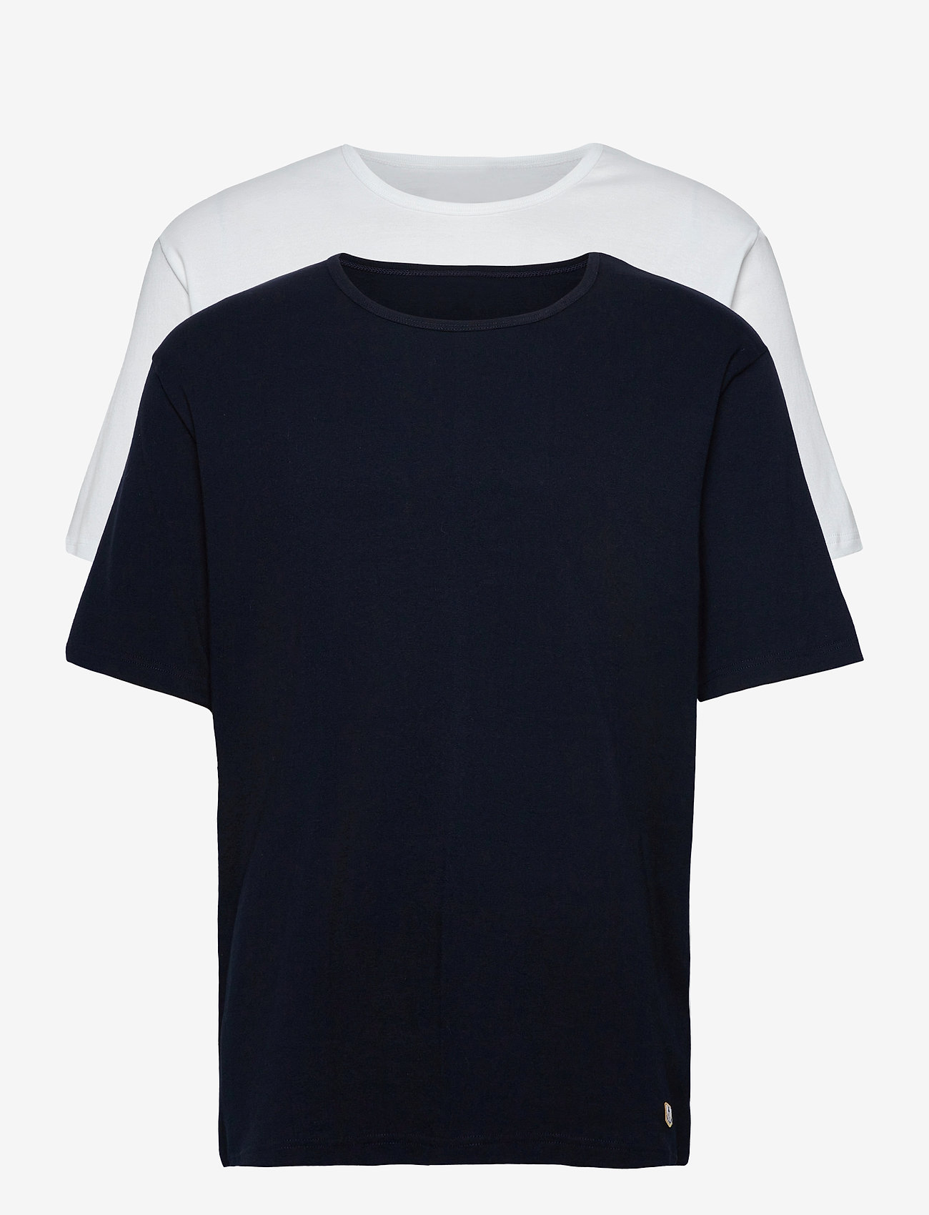 Armor Lux - 2 Pack T-Shirt - multipack - white/rich navy - 0