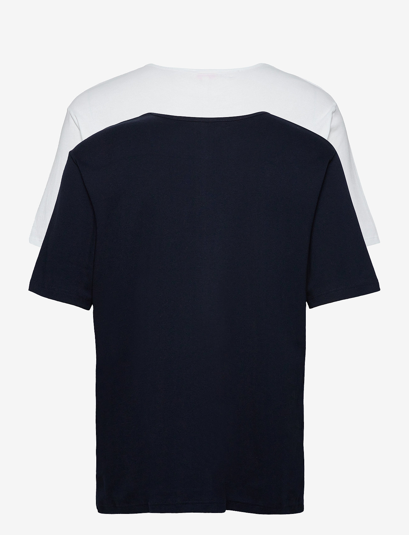Armor Lux - 2 Pack T-Shirt - multipack - white/rich navy - 1