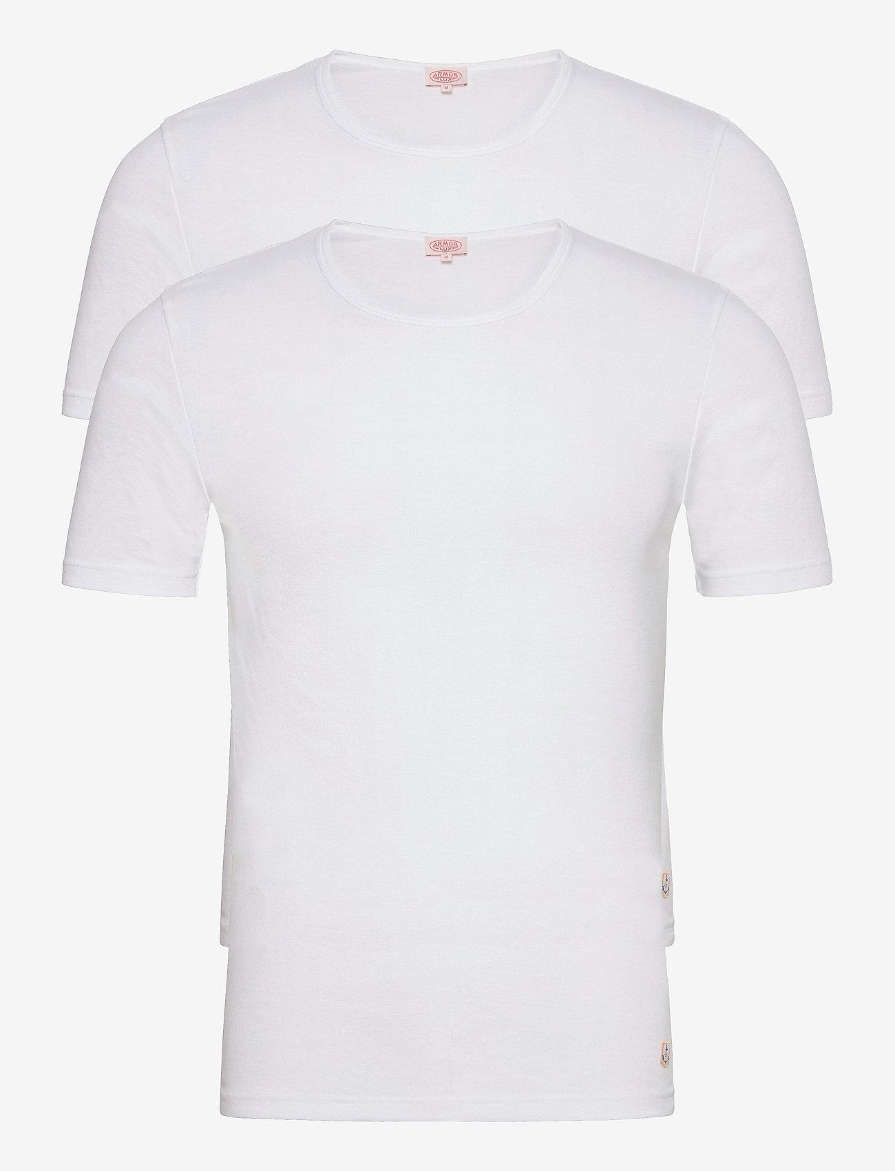 Armor Lux - 2 Pack T-Shirt - multipack - white/white - 0