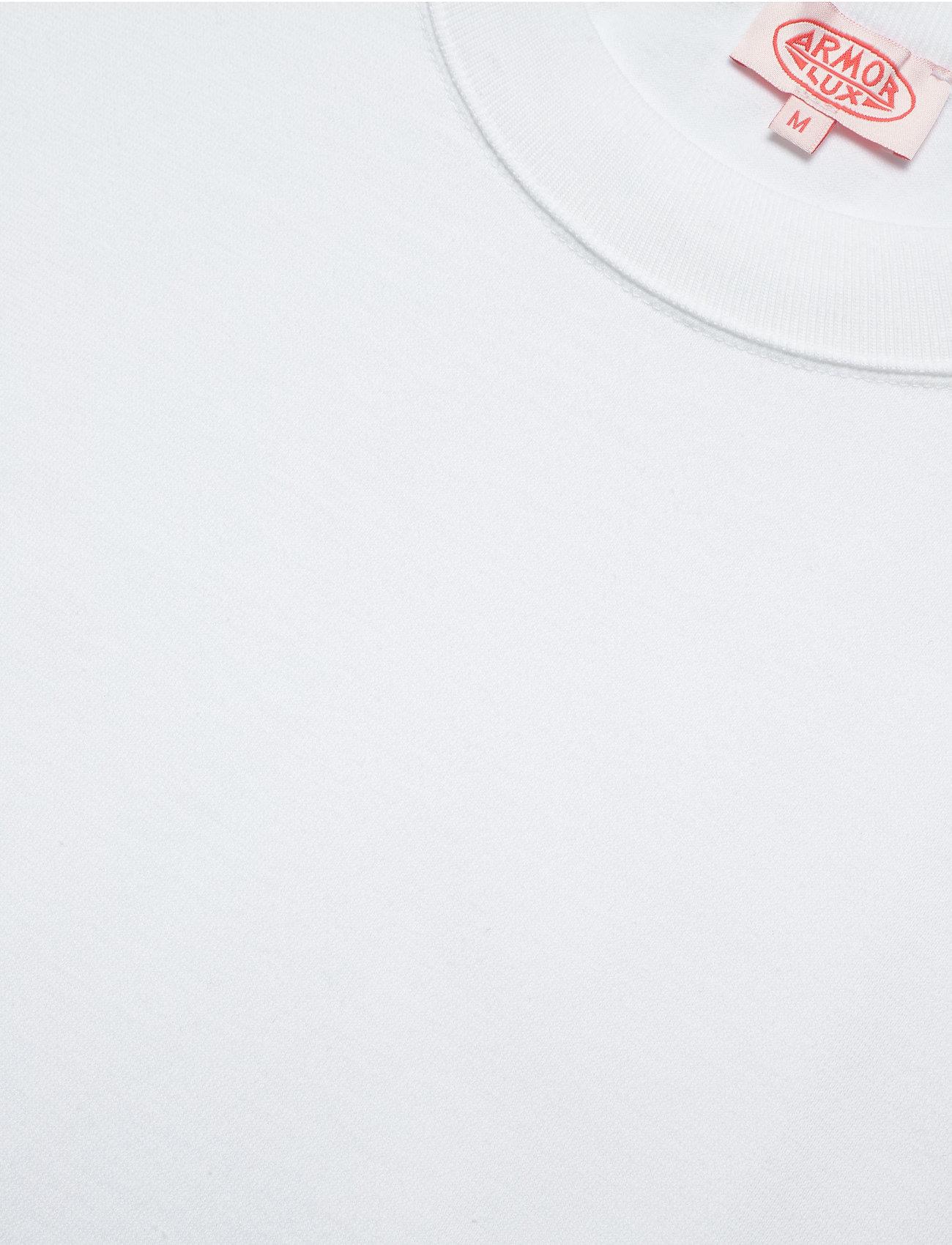 Armor Lux Round Neck T-Shirt - T-skjorter WHITE - Menn Klær