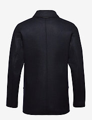 Armor Lux - Pea Coat ''Malo'' - wool jackets - navire - 1