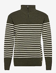 Striped Mariner Sweater Héritage - EPICEA CHINé/NATURE
