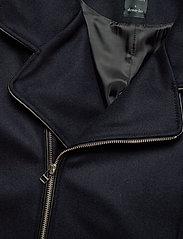 Armor Lux - Pea Coat ''Malo'' - wool jackets - navire - 2
