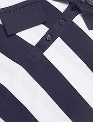 """Armor Lux - Striped  Polo Shirt """"Pleuven"""" - langärmelig - navy/white - 2"""