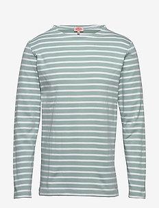 Original Breton Striped shirt - langärmelig - marsouin/blanc