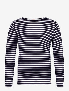 Original Breton Striped shirt - langärmelig - navy/white