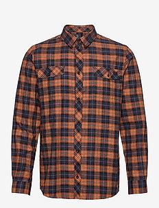 Checkered shirt - ternede skjorter - navire/rame
