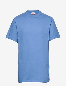 Round Neck T-Shirt - basic t-shirts - lapis