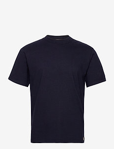 Round Neck T-Shirt - basis-t-skjorter - navy