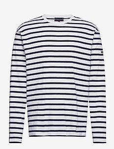 """Breton Striped Shirt """"Crozon"""" - langærmede t-shirts - white/navy"""