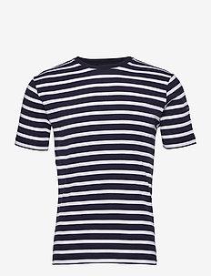 Breton Striped Shirt - t-shirts à manches courtes - navy/white
