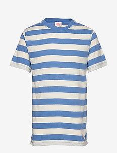 Block Colour T-Shirt - kurzärmelig - lapis/nature