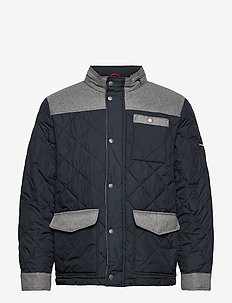 """Quilted jacket """"Valéry"""" - quiltede - navire"""