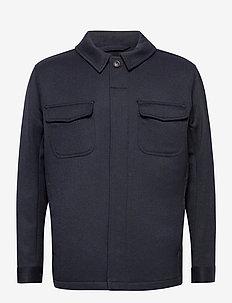 Fisherman jacket Héritage - vindjakker - rich navy