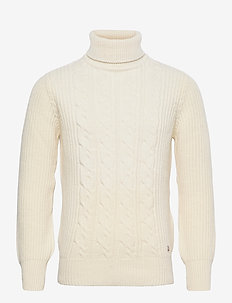 Sweater Héritage - basic knitwear - nature