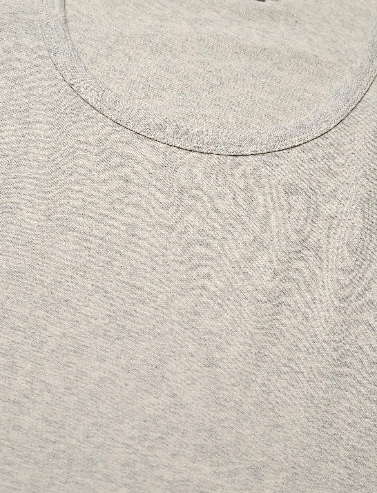 Arnie Says - Hadley Cotton - t-shirt & tops - lt grey melange - 3