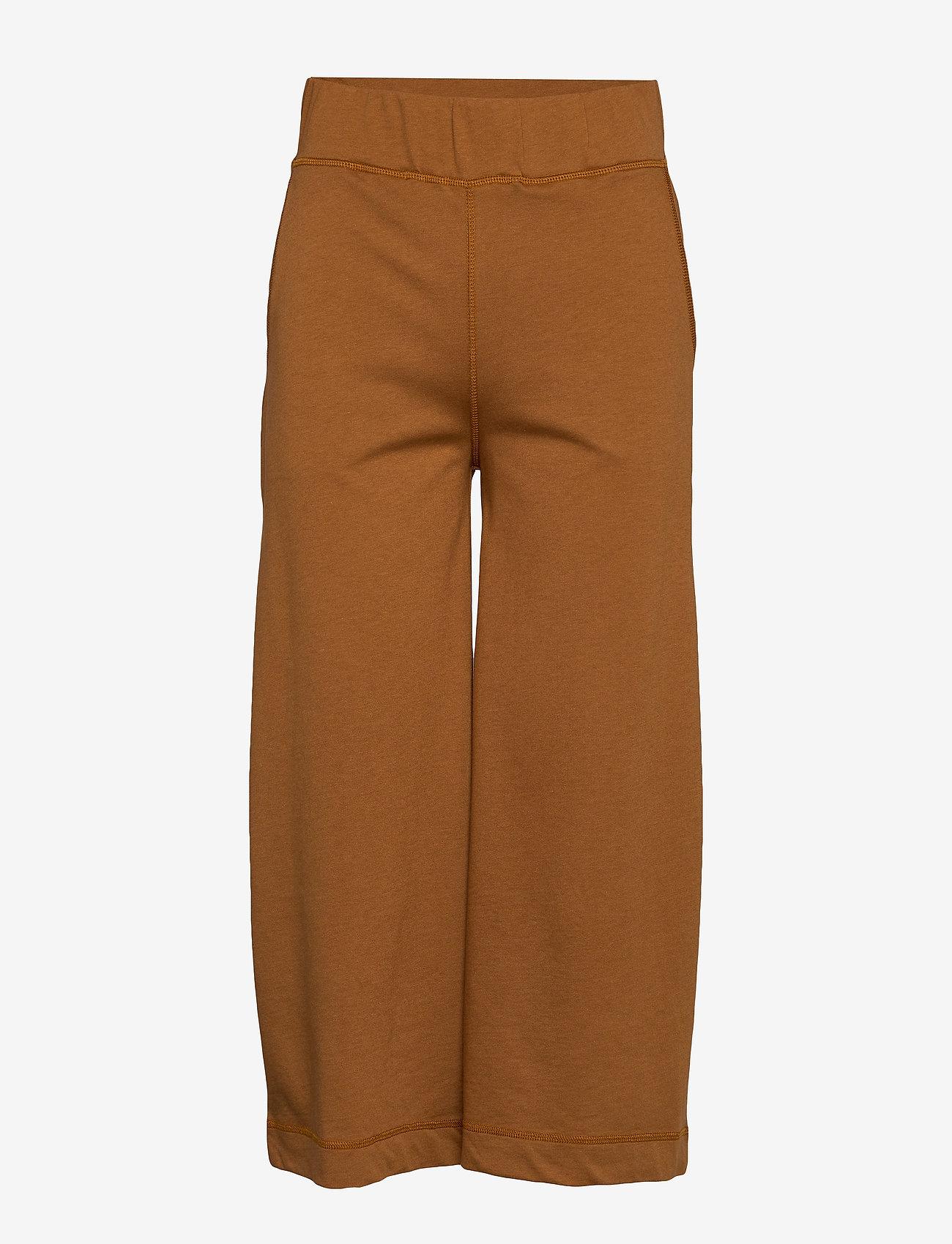 Arnie Says - Eugenie Micro Terry - spodnie dresowe - caramel - 0