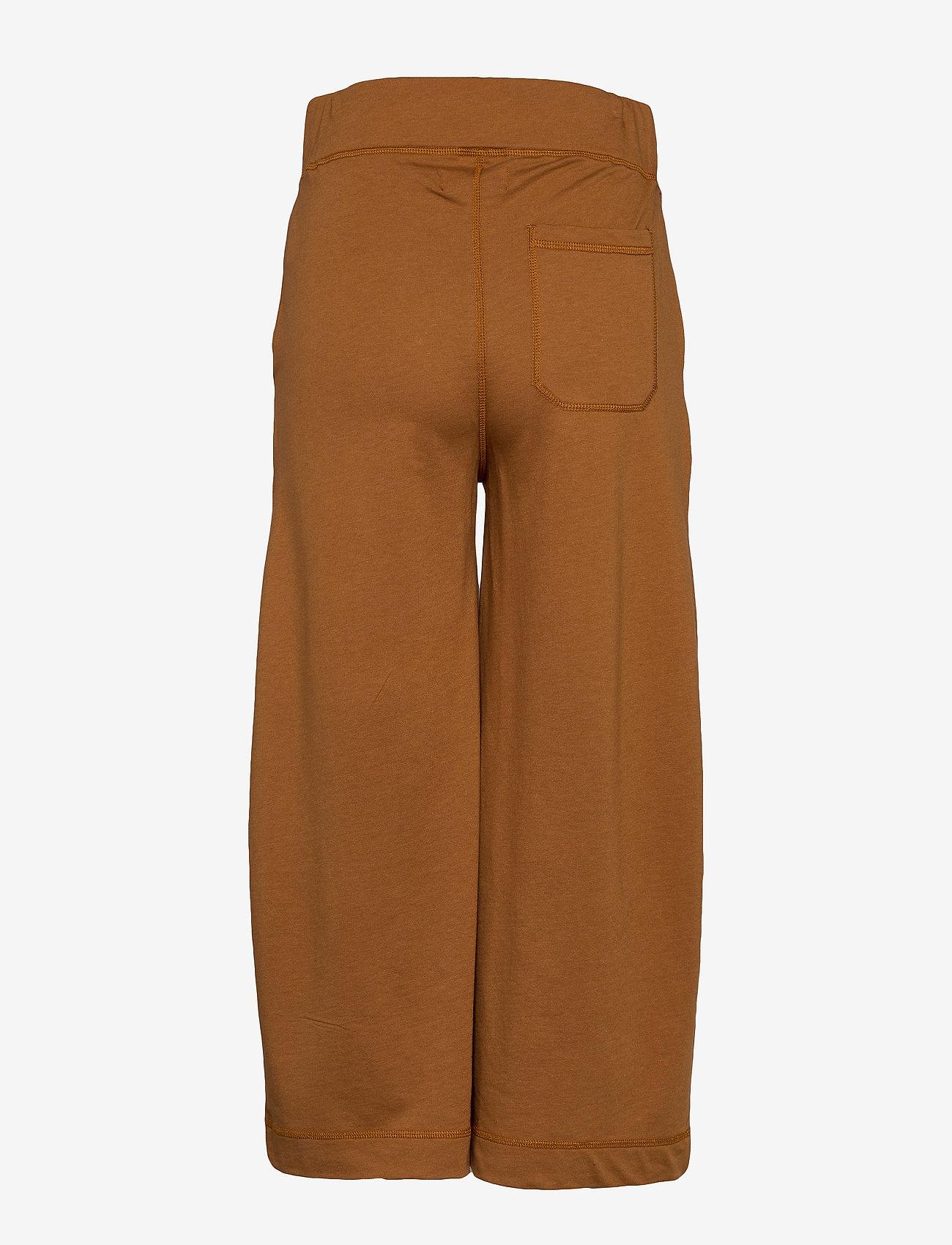 Arnie Says - Eugenie Micro Terry - spodnie dresowe - caramel - 1