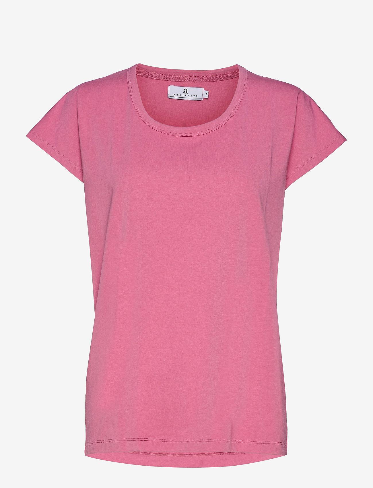 Arnie Says - Hadley Cotton - t-shirt & tops - pink - 0