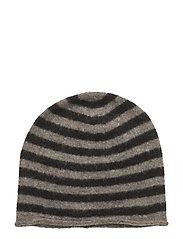 Gini Stripe - BROWN/BLACK