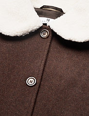 Arnie Says - Austen Solid - wool jackets - coffee - 2