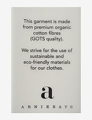 Arnie Says - Hadley Cotton - t-shirt & tops - lt grey melange - 2