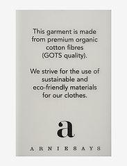 Arnie Says - Hadley Cotton - t-shirt & tops - white - 2
