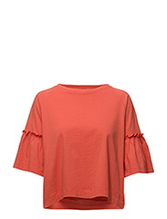 Halcyon Tee Cotton - CORAL