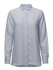 Crawford Linen - BLUE/WHITE STRIPE