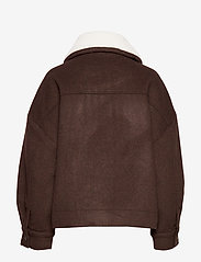 Arnie Says - Austen Solid - wool jackets - coffee - 1