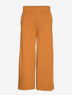 Eugenie Jersey - wide leg trousers - rust
