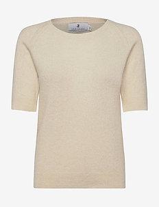 Georgina - stickade toppar & t-shirts - ecru