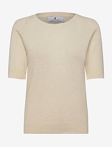 Georgina - knitted tops & t-shirts - ecru