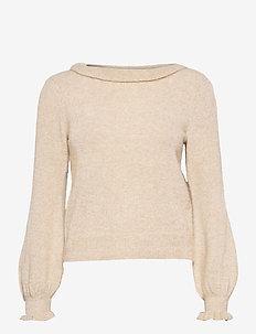 Fantine - swetry - lt beige