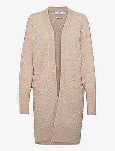Cortina - swetry rozpinane - beige melange