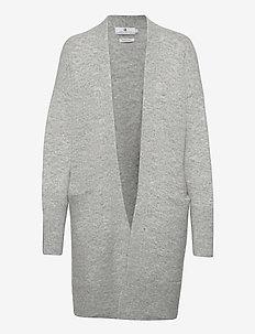 Cortina - swetry rozpinane - lt grey melange