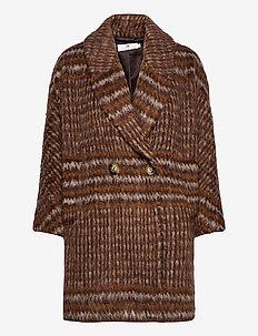 Waverly Brushed - manteaux en laine - brown