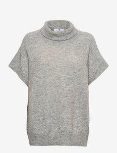 Lennon - strikkede toppe - lt grey melange