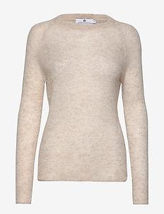 Romy - swetry - lt beige melange