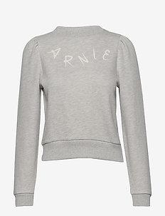 Juno College - sweatshirts - lt grey melange