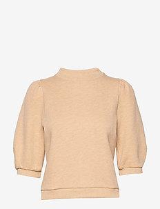 Caro College - sweatshirts - apricot melange