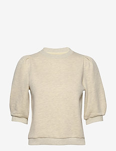Caro College - sweatshirts - lt yellow melange