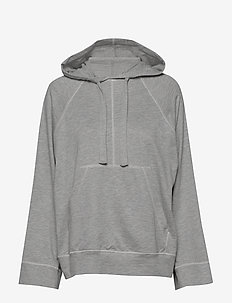 Louisiana Micro Terry - hoodies - lt grey melange