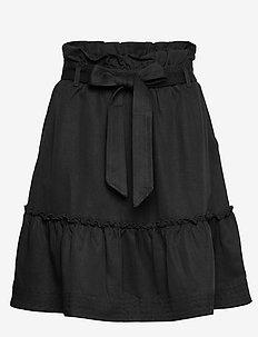 Aria Drapey - korte nederdele - dk navy