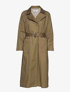Pan Gabardine - light coats - khaki