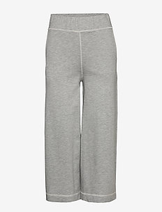 Eugenie Micro Terry - sweatpants - lt grey melange