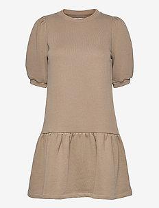 Mira College - everyday dresses - beige melange