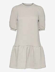 Mira College - everyday dresses - lt grey melange