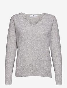 Claudine - pulls - grey melange