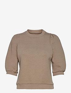 Caro College - sweatshirts - beige melange